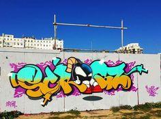 SCRIBZ is the bomb Graffiti Pictures, Samurai Art, Graffiti Lettering, Stencil Art, Street Art Graffiti, Urban Art, Pop Art, Drawings, Artwork