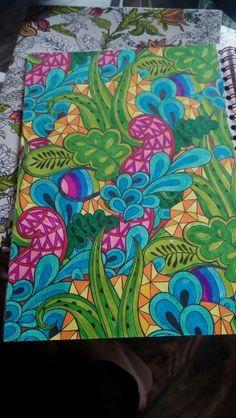 Kleurboek voor volwassenen - made by Jill
