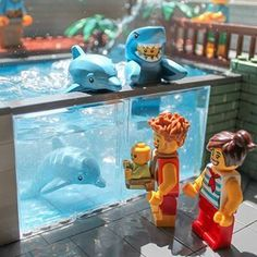 Lego Zoo, Lego Sculptures, Lego Animals, Amazing Lego Creations, Lego Pictures, Lego Activities, Lego Craft, Lego Construction, Lego Worlds