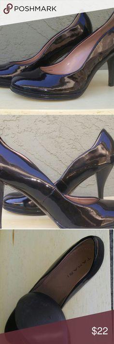 Tahari black patent leather pumps Excellent condition Tahari, Collet pumps. Elie Tahari Shoes Heels