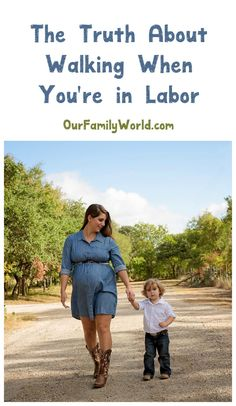 How much walking can you really do when you're at the end of your pregnancy? Find out the truth about walking in labor and right before childbirth!
