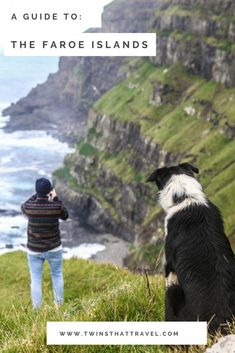 It wasn't always the (lovely) people of the Faroe Islands that introduced us to the villages and sights. A lot of the time we were greeted by friendly pups, who were happy to show us around (running over to their favourite cliffs to show us the views! Visit Faroe Islands, Denmark Travel, Uk Destinations, Group Travel, Travel Style, Travel Guides, Travel Inspiration, Travel Photography, Tours