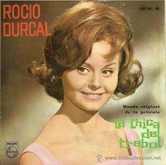 ROCIO DURCAL DEL FILM LA CHICA DEL TREBOL EP SELLO PHILIPS AÑO 1964 (Música…