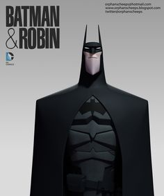 Batman redesign by R'john Bernales and Chris Turcotte.  http://www.orphanscheeps.blogspot.com/