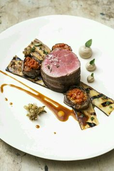 Tenderloin of Beef with Braised Aubergine