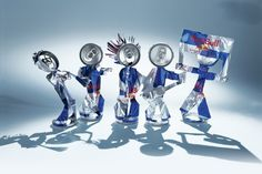 They are ready to rock. #redbull #recycle #artofcan