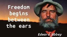 Edward Abbey - Freedom