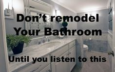 Don't Remodel your Bath until you listen to This Linear Drain, Baths Interior, Floating Vanity, Hand Held Shower, Vessel Sink, Walk In Shower, Bath Design, Light Decorations