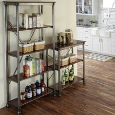 Home Styles 'The Orleans' 5-tier Multi-function Vintage Shelves | Overstock.com