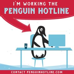 Penguin hotline coffee