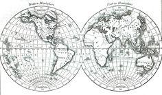 Image result for vintage map printable black and white elf the image result for vintage map printable black and white gumiabroncs Images
