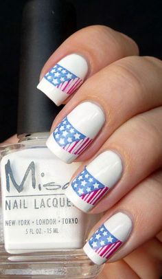 What a fabulous and relatively effortless way to have your stunning Fourth of July nails designs? You must have heard about stripes and stars nail pattern,