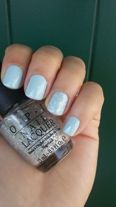 CHIKI88...  my passion for nails!: The nails of the week: light grey nails!