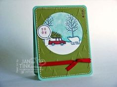 White Christmas - Stampin' Up! Holiday Catalog aka It Had to be Done