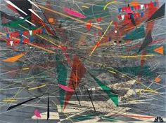 Julie Mehretu Black Ground (deep light) 2006 72 x 96 in. x cm) Ink and acrylic on canvas Principles Of Design, Action Painting, Ap Art, Paintings For Sale, African Art, American Artists, Contemporary Art, Modern Art, Street Art
