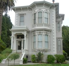 Italianate Style Victorian in Alameda, Ca - I never liked victorian homes until we moved to Alameda, Ca....love the muted color scheme