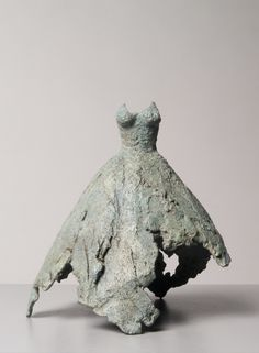 """#Sculpture -Clotilde Ancarani, Danseuse, 2010-2013 -Clotilde Ancarani sublimely orchestrates the contradictions that give substance to true things. She says: """"I play a game of impressions and camouflage. I am in it, behind it, in every fold of it. I put this fragile barrier between all intruders and myself. I take part in the masquerade. Yet I see no faking…"""" (...) www.spotuart.com/... #onlineartgallery - #contemporaryart - contemporary art - sculpture - online art gallery"""