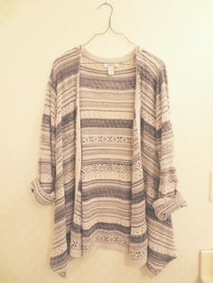 Oversized tribal knit cardigan from Little Distractions on Storenvy