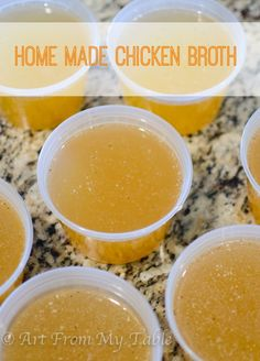 This rich chicken broth is flavorful and nourishing. The best chicken broth you've ever made!