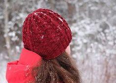 lähikuva palmikkopiposta Knitted Hats, Winter Hats, Knitting, Beanies, Knits, Fashion, Moda, Tricot, Beanie Hats