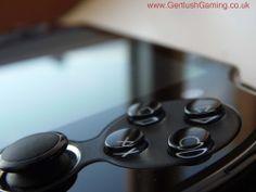 Macro shot of the PlayStation Vita