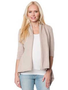 Autumn Cashmere Long Sleeve Cascade Maternity Sweater