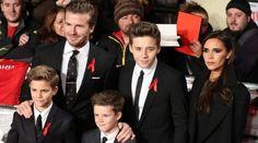 See photos of David Beckham and his family at Disneyland