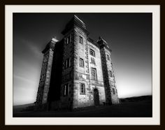 The Cage - Lyme Park - framed 16 by 12in print on photo-rag or museum grade fibre paper.