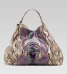 $4500 Soho shoulder bag. Gucci fall preview. #fashion #gucci #bags