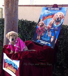 Rosebud Meet & Greet from Disney's Super Buddies + DVD ~ Review