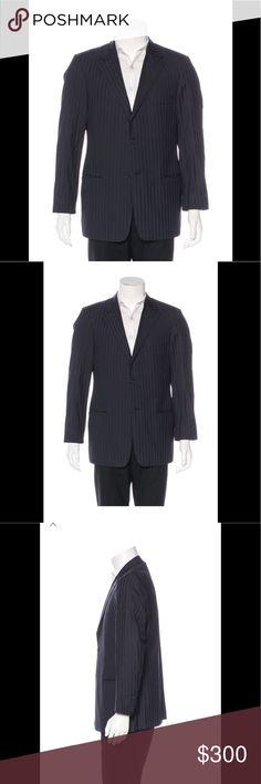 Valentino men's Dress Jacket Navy pin stripe. Fantastic condition. Valentino Jackets & Coats