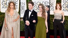 Check out all of the high fashions at the 72nd Golden Globe Awards.