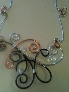 Pinterest Jewelry Making | Jewelry Making Ideas / wire wrap necklace