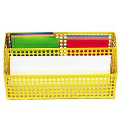 Design Ideas Yellow Edison Letter Sorter DID3434915