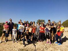 Los aventureros que nos acompañaron en la ruta del #patrimonio bélico de #ribaroja una excelente jornada entre trincheras y refugios. Esperamos volver a verlos pronto!