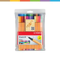 Stabilo Point 88, Pen Brands, Bible Study Journal, My Philosophy, Hexagon Shape, Pen Sets, Smudging, Are You Happy, Brochures