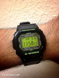 This was my St. Patrick's Day G-Shock