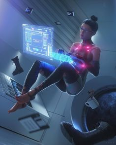 - - (notitle) Cyberpunk Illustrations and posters Arte Cyberpunk, Cyberpunk City, Cyberpunk Aesthetic, Cyberpunk 2077, Cyberpunk Fashion, Cyberpunk Tattoo, Neon Aesthetic, Character Concept, Character Art