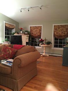 Painted My Family Room Benjamin Moore Gray Mirage At 75