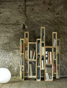 Euro pallet wood pallets bookshelves themselves building