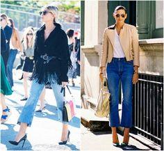 Tendência - Cropped Jeans