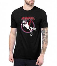 Dead-Pool Parodie Min Herren T-Shirt Fan Shirt Anti Held Comic Serie Film Movie