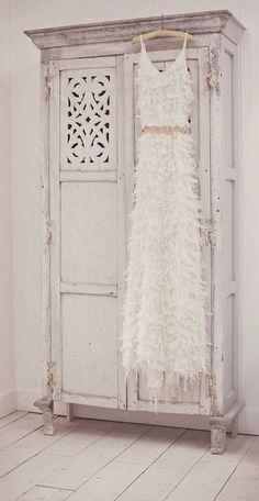 shabby chic wardrobe armoire bedroom furniture ideas romantic look