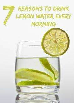 Women's Mag Blog: 7 Reasons to Drink Lemon Water Every Morning