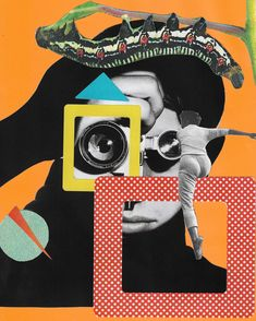 Surreal Collage, Surreal Art, Collage Art, Graphic Design Posters, Graphic Design Inspiration, Collage Illustrations, Peach Lemonade, Photomontage, Digital Collage