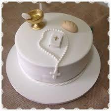 Risultati immagini per bolo de comunhão menino
