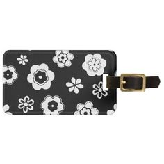 Black And White Floral Luggage Tags http://www.zazzle.co.uk/black_and_white_floral_luggage_tags-256569918174437233?rf=238703308182705739&CMPN=zBookmarklet