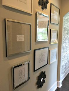 [6%255B1%255D.jpg]. Handwritten family recipes handed down...framed and hung near kitchen. Cool!