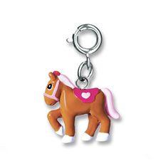 Shop CHARM IT! - Pretty Pony, $6.00 (http://www.shopcharm-it.com/charms/pretty-pony/)