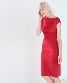 Image 3 of BOATNECK TUBE DRESS from Zara